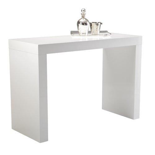 Enjoyable Sunpan Modern Faro High Gloss C Shape Bar Table 50257 On Creativecarmelina Interior Chair Design Creativecarmelinacom