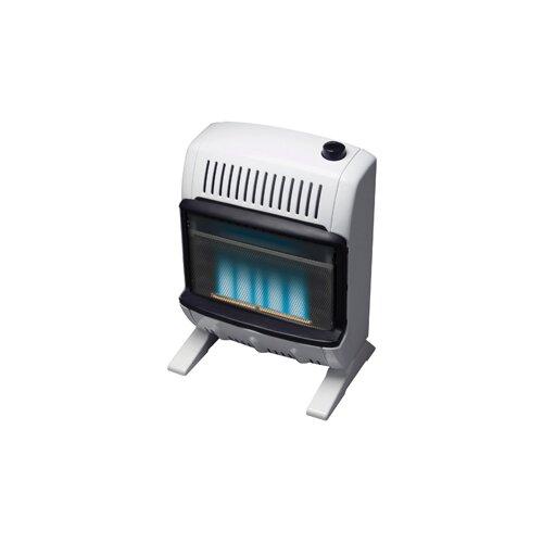 Mr. Heater 10000 BTU Natural Gas Blue Vent Free Wall Mount Heater
