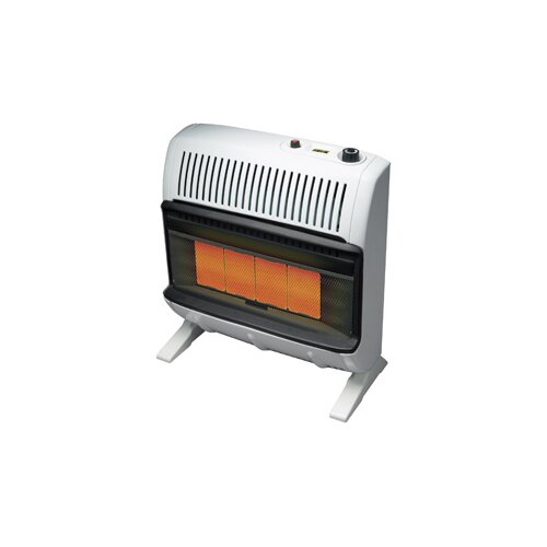 Mr Heater 30000 BTU Liquid Propane Radiant Vent Free Wall Mount Heater