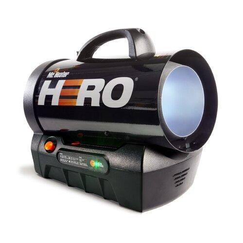 Mr. Heater 35,000 BTU Hero Forced Air Propane Heater