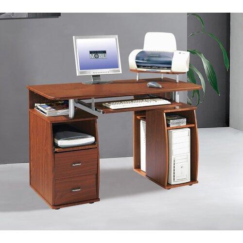 Techni Mobili Computer Desk Espresso Rta 8211 Es18