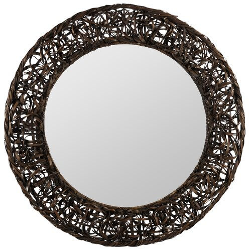 Kenroy Home Reyes Wall Mirror in Antique Silver