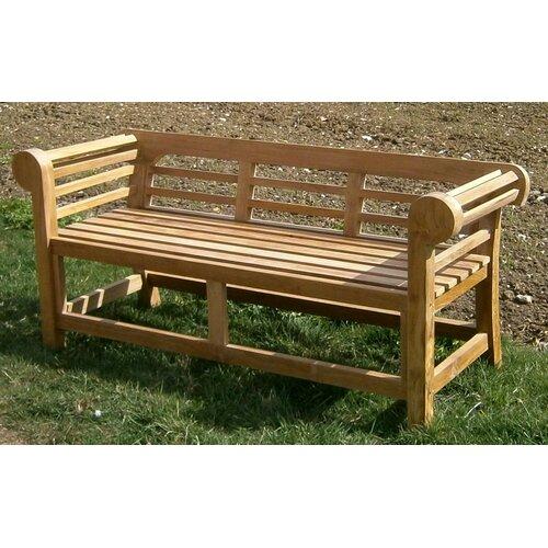 Gartenbank Nostalgia aus Teakholz | Garten > Gartenmöbel > Gartenbänke | Beige | Derry's