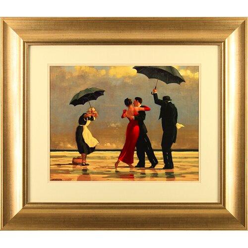"""Gerahmtes Poster """"Singing Butler"""" von Jack Vettriano Kunstdruck   Dekoration > Bilder und Rahmen > Poster   Bunt   East Urban Home"""