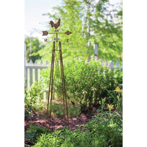 Rankgitter Promfret aus Stahl | Garten > Pflanzen > Pflanzkästen | Braunzederespresso | Garten Living