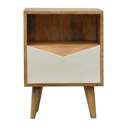 Nachttisch Declan | Schlafzimmer > Nachttische | Weiß | ScanMod Design