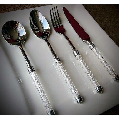 24-tlg. Besteckset Arjun für 6 Personen | Küche und Esszimmer > Besteck und Geschirr > Besteck | Everly Quinn