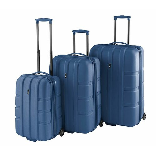 Travel Concepts Forge 3 Piece Expandable Hardsided Luggage Set