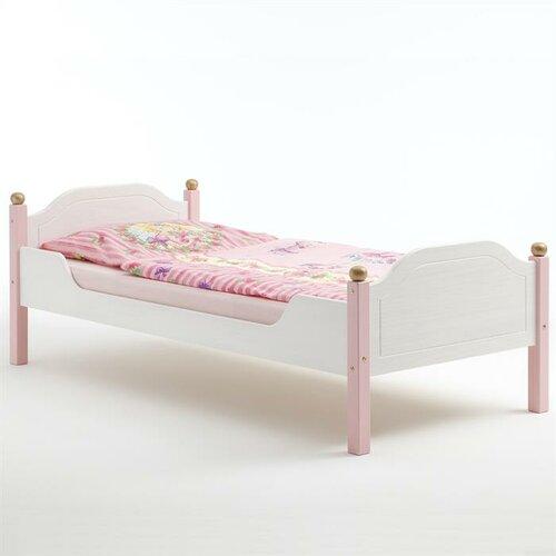 Kinderbett Amber 90 x 200 cm | Kinderzimmer > Kinderbetten | Pink | Lackiert - Holz | Harriet Bee