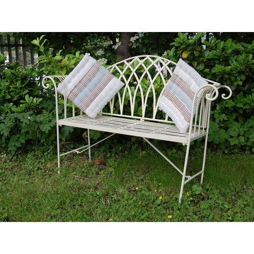 Gartenbank King's aus Metall | Garten > Gartenmöbel > Gartenbänke | Weiß | Prestington