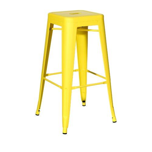 dallas industrial metal bar stool chteauchic colour