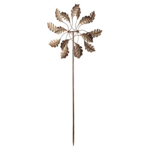Windrad Blatt   Garten > Dekoration > Windräder   Bronze   Home Etc