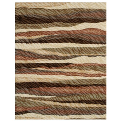 Shaw Rugs Centre Street Henley Light Multi Rug 3P18 04110 Rug Size 8 x 10