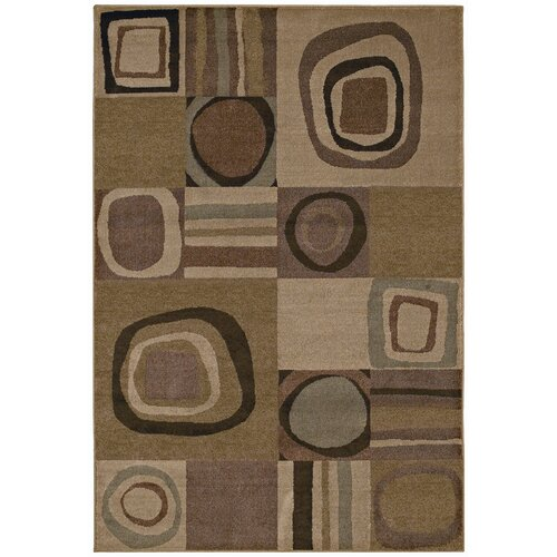Shaw Rugs Accents Galaxy Light Beige Multi Rug   3X8 35110
