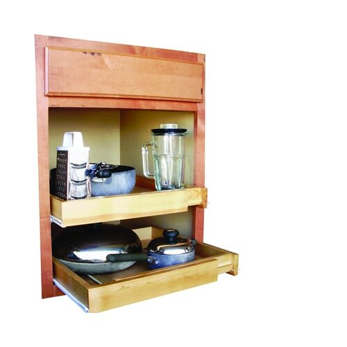Axis International Bamboo Expandable Kitchen Cabinet Pull