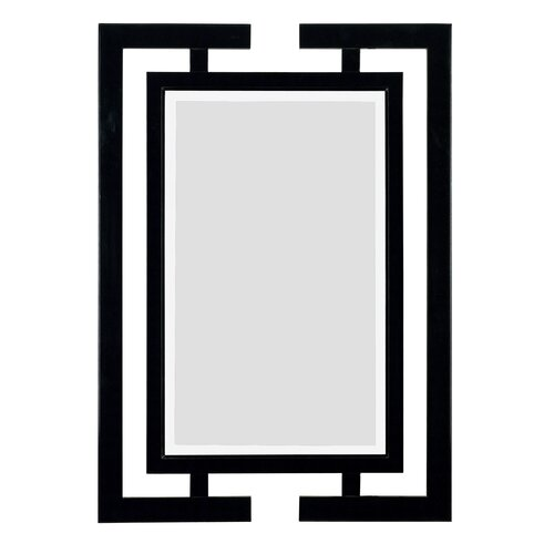 Kenroy Home Shinto Wall Mirror in Gloss Black