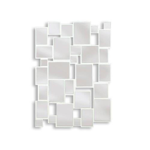 Kenroy Home Hockney Wall Mirror in Gloss White