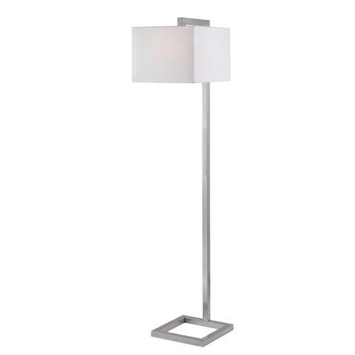 Kenroy Home 4 Square One Light Floor Lamp   21080BS / 21080ORB
