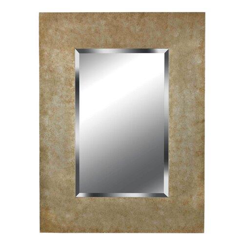 Kenroy Home Sheen Wall Mirror in Golden Copper