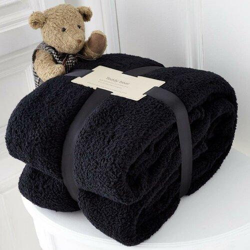Babydecke Doug | Kinderzimmer > Textilien für Kinder > Babytextilien | Schwarzblaurotbrauntürkiselfenbein &amp| crème | Viv + Rae