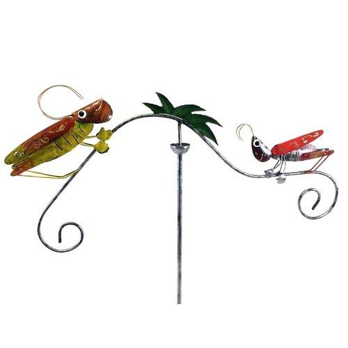 Windrad Grasshopper   Garten > Dekoration > Windräder   Grünrot   SKStyle
