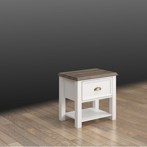 Nachttisch Melton Mowbray | Schlafzimmer > Nachttische | White | Holzwerkstoff | Brambly Cottage