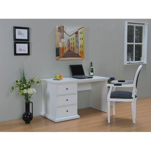 Schreibtisch Cassatt | Büro > Bürotische > Schreibtische | White | Holzwerkstoff | Beachcrest Home