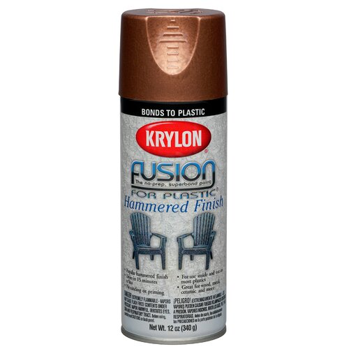 krylon copper fusion for plastic spray paint hammered set. Black Bedroom Furniture Sets. Home Design Ideas