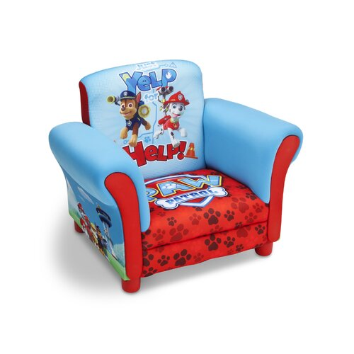 Kindersessel Paw Patrol | Kinderzimmer > Kindersessel & Kindersofas | Rotblau | Paw Patrol