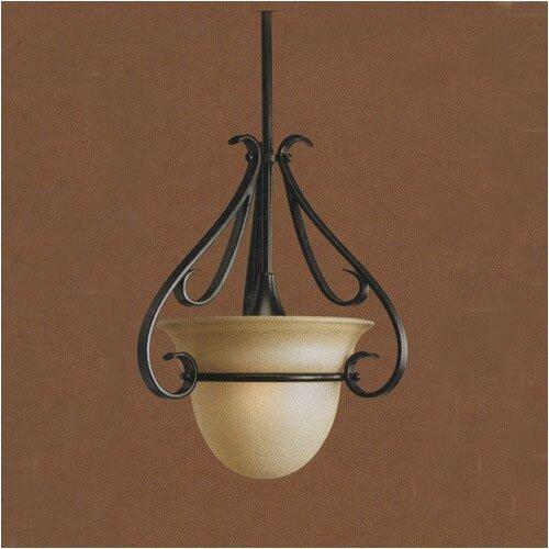 Progress Lighting Torino 1 Light Stem Hang Mini Pendant   P5144 77