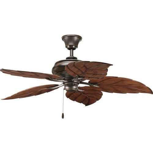 Progress Lighting 52 Air Pro 5 Blade Indoor / Outdoor Ceiling Fan