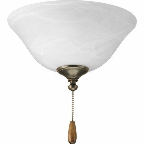 Progress Lighting Air Pro Universal Bowl Ceiling Fan Light Kit