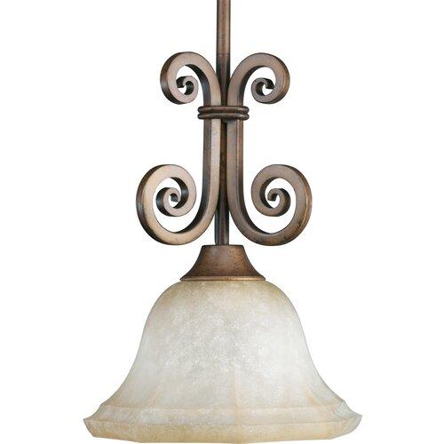 Guildhall 1 Light Stem Hang Mini Pendant   P5109 102/P5109 80
