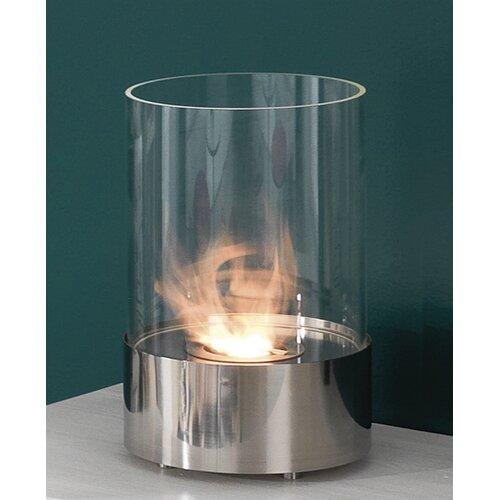 23 cm Ethanol-Kamin | Wohnzimmer > Kamine & Öfen > Kamine | Chrom | Tomasucci
