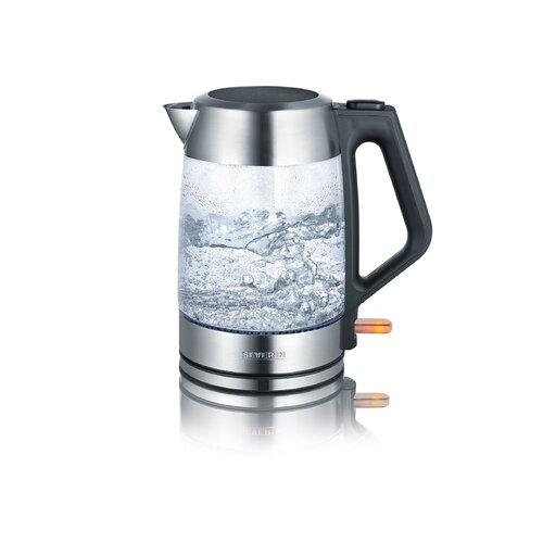 15 L Wasserkocher aus Glas | Küche und Esszimmer > Küchengeräte > Wasserkocher | Black | Edelstahl - Kunststoff | Severin