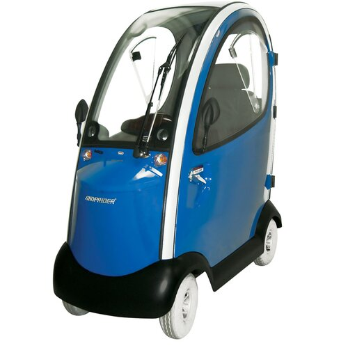 Shoprider-Flagship-Enclosed-Cabin-Scooter
