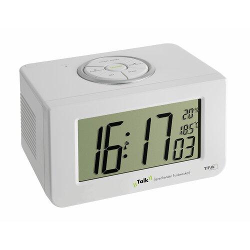 Schreibtischuhr | Dekoration > Uhren > Standuhren | White | Kunststoff | TFA Dostmann