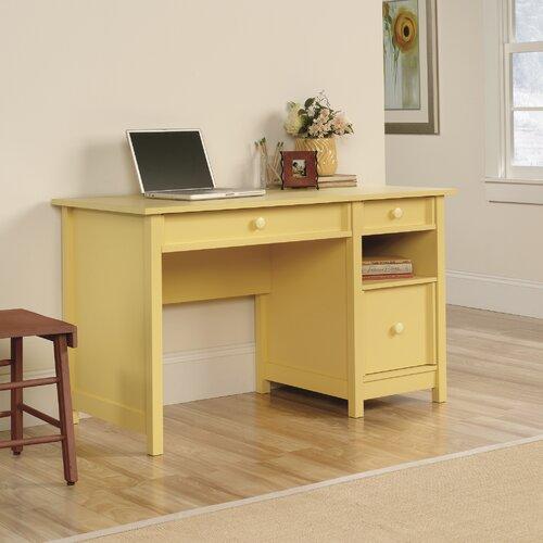 Strange Sauder Original Cottage Desk 414 Finish Mellow Yellow On Complete Home Design Collection Papxelindsey Bellcom