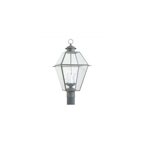 Lighting Colony Outdoor Post Lantern in Antique Bronze   8258 71