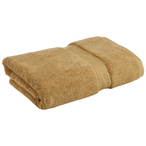 Simple Luxury Superior 900 GSM Egyptian Cotton Bath Towel (Set of 2) - Color: Toast