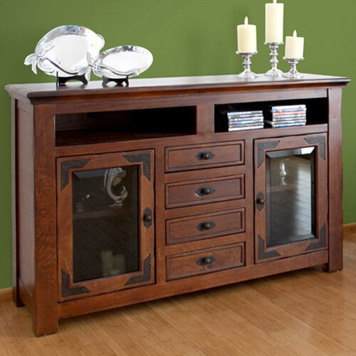 Artisan Home Furniture Lodge 500 63 TV Stand IFD505STAND
