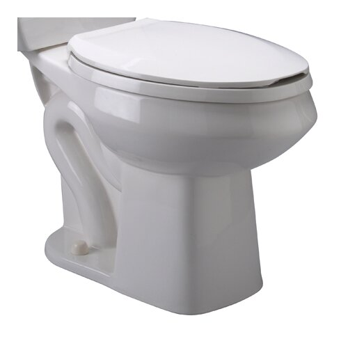 zurn pressure assist 1 6 gpf elongated toilet bowl
