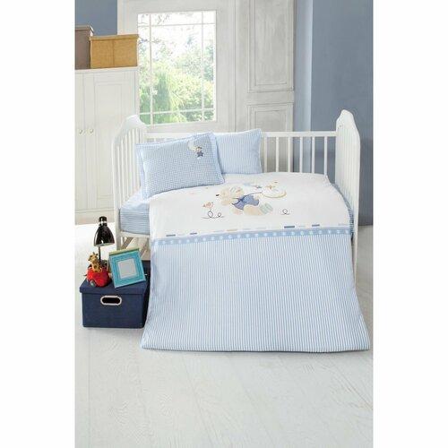 Kinder-Bettwäsche Ellie | Kinderzimmer > Textilien für Kinder > Kinderbettwäsche | Blue | Sei Design
