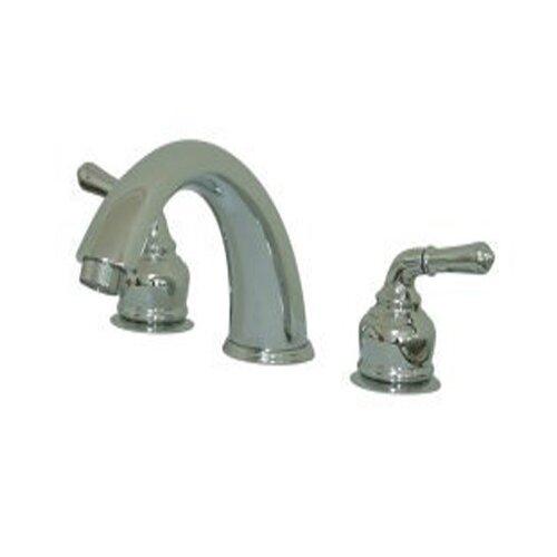 Elements of Design Magellan Double Handle Deck Mount Roman Tub Faucet