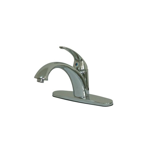 Elements of Design Vintage Single Handle Centerset Kitchen Faucet with
