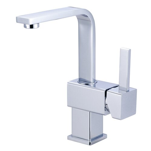 Elements of Design Claremont Single Handle Bathroom Faucet with Push