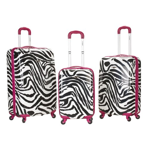 Animal Print Luggage Sets