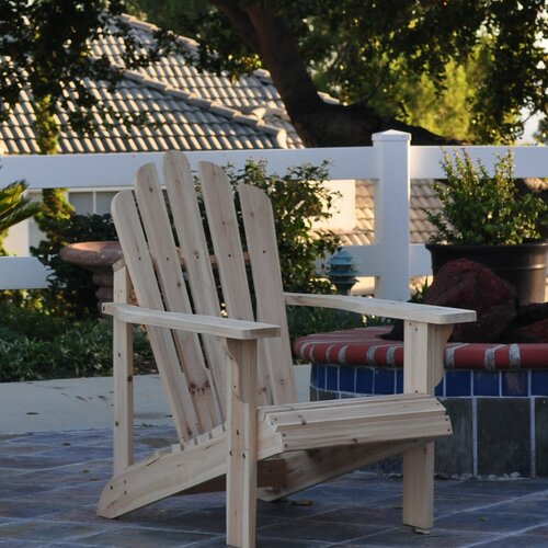 Chairs wayfair adirondack chair seats outdoor patio for Outdoor furniture wayfair
