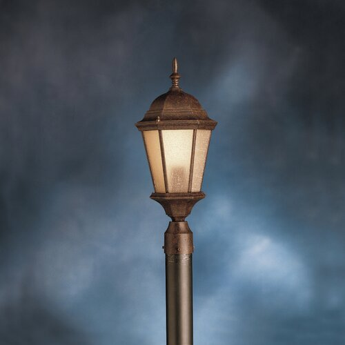 Kichler Cast Aluminum 23 Outdoor Post Lantern in Tannery Bronze