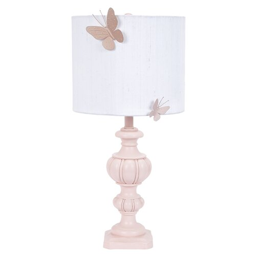 Jubilee Collection Urn Large Table Lamp with White Round Drum Shade